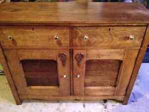 Reduced! Antique Tiger Oak Sideboard/Buffet London Ontario image 1