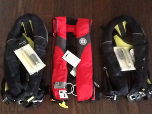 Auto Inflate PFD's and Tethers