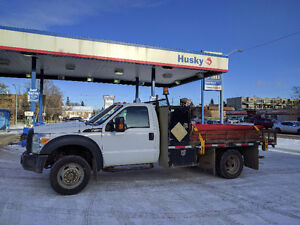 2012 F550 4*4 Regular Cab with 10' flat bed
