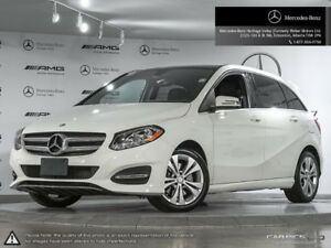 NEW CONDITION W/WARRANTY! 2015 Mercedes B250 4MATIC only 58k!
