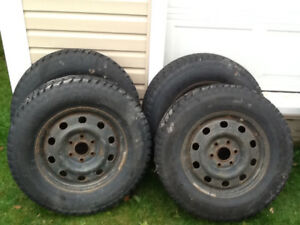 """Winter 17"""" Tires and Rims"""