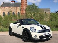 2013 MINI ROADSTER 1.6 COOPER (VAT QUALIFYING) ONE OWNER FROM NEW + LOW MILEAGE