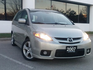 2007 Mazda5 GT, sunroof, foglights, CERTIFIED!!