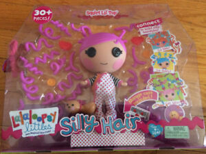 Lalaloopsy Silly Hair Doll - Squirt Lil Top - BRAND NEW in Box!