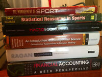 1st Year SPAD/Commerce Laurentian University Textbooks