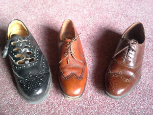 3 pairs dress shoes