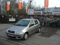 2003 FIAT PUNTO ACTIVE 1.2L IDEAL 1ST CAR, LOW INSURANCE GROUP,GOOD FUEL ECONOMY