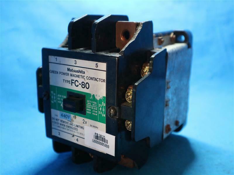 Matsushita FC-80 FC80 Green Power Magnetic Contactor