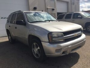 2007 Chevrolet TrailBlazer 6 Months powertrain warranty included