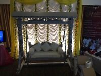 Wedding / mehndi sofa/ jhoola for hire