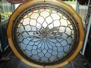 "45"" Custom Made Decorative Stain Glass (Location-Trenton Ontario"