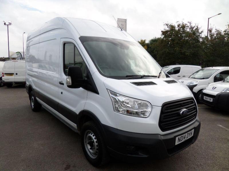 Ford Transit T350 MWB 2.2 Tdci 100Ps H3 Van DIESEL MANUAL WHITE (2014)