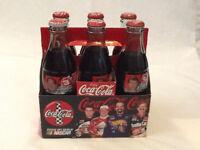 NASCAR coke bottles