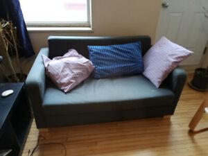 Canapé Ikea 2 places gris