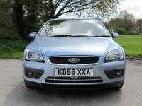 Ford Focus 1.6 auto 2007MY Zetec Climate hatchback 5 door 2 owners blue