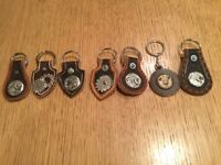Steampunk style key fobs / Rings