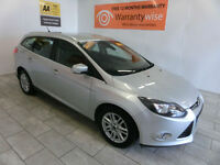 2013 Ford Focus 1.6TDCi ( 115ps ) Titanium ***BUY FOR ONLY £38 PER WEEK***