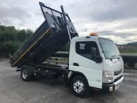 2016 MITSUBISHI FUSO CANTER 7.5 TONNE FULLY INSULATED TAR TIPPER