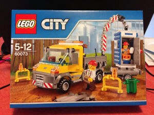 Lego City 60072 and 60073 Construction Sets (Retired) Brand New