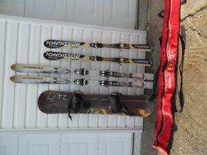 ski, planche a neige ,sac pour ski negociable