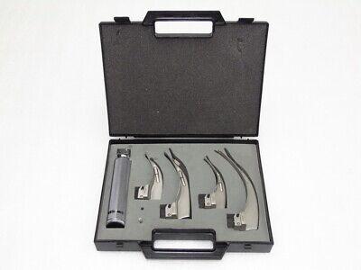 Sunmed Standarad Laryngoscope Disgnostic Medical Doctor Physician Kit Fiberoptic