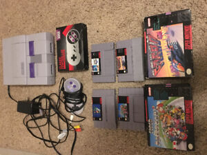 SNES Bundle  Extremely sweet collection!