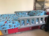 Child's fire engine bed from age 2- 10