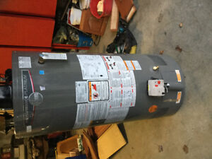New 40 gallon natural gas water heater