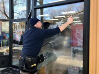 *COMMERCIAL AND RESIDENTIAL WINDOW CLEANING SERVICE**