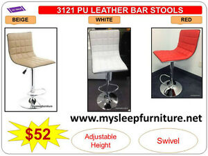 BRAND NEW- BAR STOOLS- acrylic, plastic, leather, Many colors City of Toronto Toronto (GTA) image 6