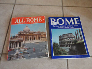 LOT OF 2 BOOK ALL ROME THE VATICAN AND SISTINE CHAPEL & ROME London Ontario image 1