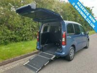 2015 Peugeot Partner Tepee 5 Seat Wheelchair Accessible Mobility Adapted Disable