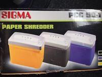 Sigma paper shredder