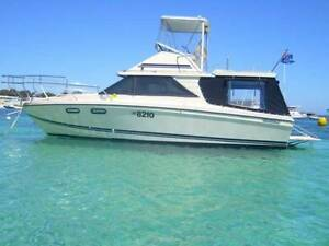 Flybridge Cabin Cruiser - Leeder 26 (Bertram, Caribbean, Randell) East Fremantle Fremantle Area Preview