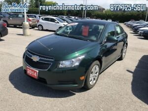 2014 Chevrolet Cruze LT  - Certified - Bluetooth