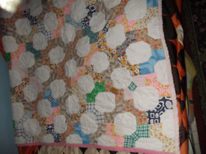 HAND QUILTED BLANKET