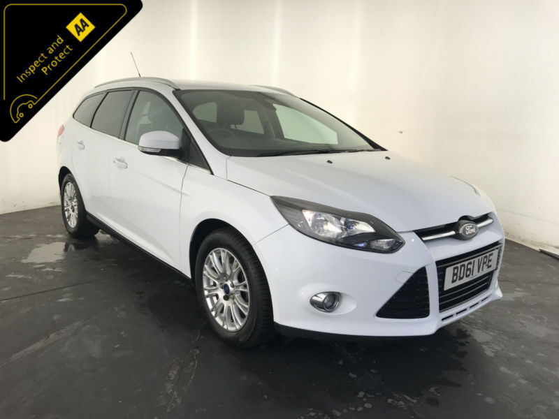 2011 61 FORD FOCUS TITANIUM 1 OWNER FORD SERVICE HISTORY FINANCE PX