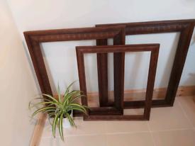 Victorian Carved Oak Frames