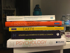 Selling first year Brock University textbooks: