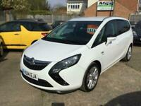 Vauxhall/Opel Zafira Tourer SRI 2.0 CDTI 49K FSH for sale  Swaffham, Norfolk