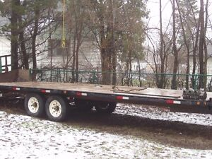 2006 FLOAT TRAILER FOR SALE