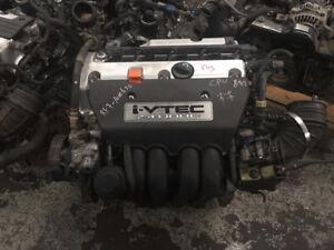 Honda CR-V Honda Accord honda Element Acura tsx 2.4L engine