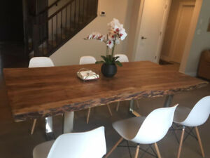 Live Edge Tables Acacia Suar Wooden Table