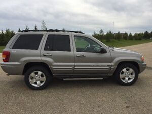 2001 Jeep Grand Cherokee Limited 4x4 Only 83,812 Kms.,Mint