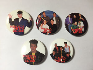 New Kids On The Block buttons!