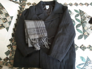 Old Navy Youth Coat and Scarf Size L (10-12)