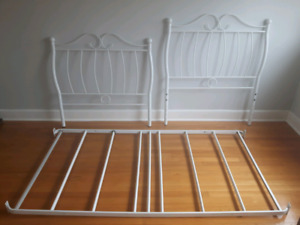 Beautiful single size bed frame