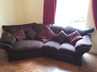 Large corner couch and 2 seater sofa