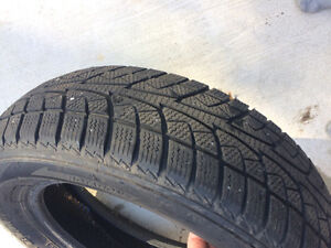 2 year old snow tires (4) London Ontario image 1