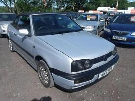 1998 Volkswagen Golf 1.8 2dr 2 door Convertible